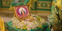 Архиепископ Лукиан возглавил богослужение в храме святого преподобного Серафима Саровского в п.Бурее в его престольный праздник