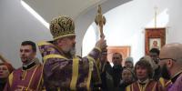 Архиепископ Лукиан совершил Божественную литургию и чин Торжества Православия в Благовещенском кафедральном соборе