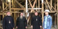 Правящий архиерей осмотрел строящийся храм в г. Свободный