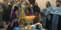 Архиепископ Лукиан совершил акафистное пение у Албазинского образа Божией Матери.