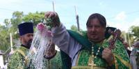 В день памяти святой блаженной Ксении Петербургский, архиепископ Лукиан возглавил богослужение в соименном храме