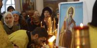 В Благовещенск прибыла часть мощей святителя Спиридона Тримифунтского