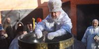 В праздник Крещения Господня архиепископ Лукиан совершил Божественную литургию и чин Великого освящения воды в храме Архангела Гавриила г.Благовещенска