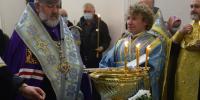 Архиепископ Лукиан возглавил акафистное пение у Албазинского чудотворного образа в Благовещенском кафедральном соборе