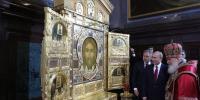 Главная икона Вооруженных сил РФ «Спас Нерукотворный» прибудет в Благовещенскую Епархию в этот четверг