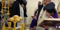 В канун праздника Крещения Господня, архиепископ Благовещенский и Тындинский Лукиан совершил  всенощное бдение в Благовещенском кафедральном соборе